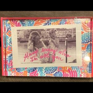 Lilly Pulitzer Picture Perfect Acrylic Photo Frame